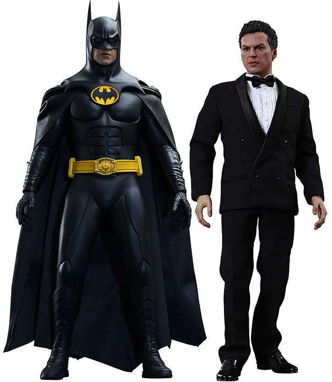 Batman Returns Movie Masterpiece Deluxe Batman & Bruce Wayne 1/6 Collectible Figure [Batman Returns]