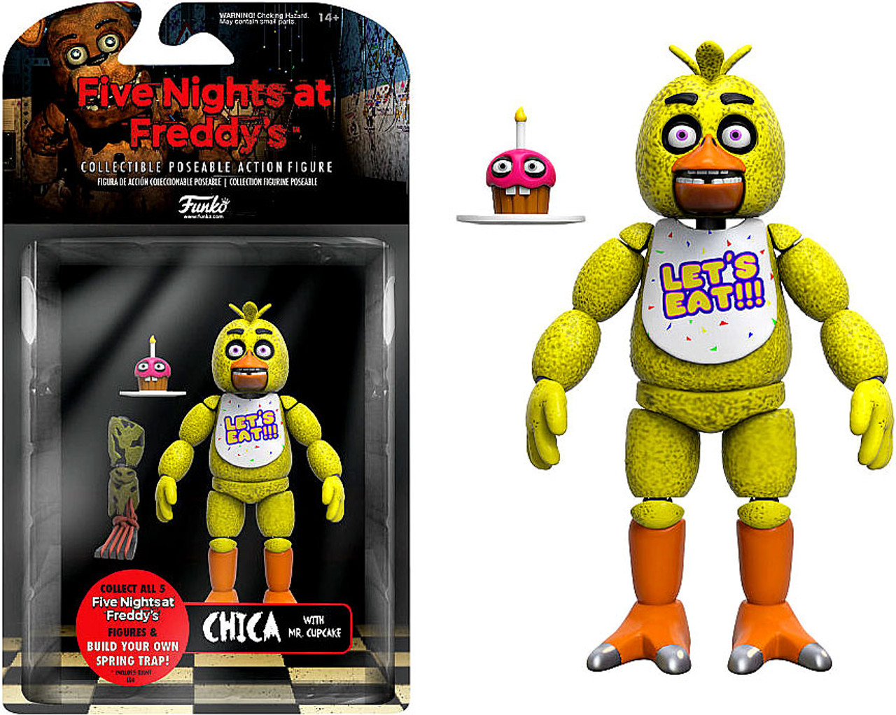 Funko Five Nights at Freddys Series 1 Chica Action Figure Build ...