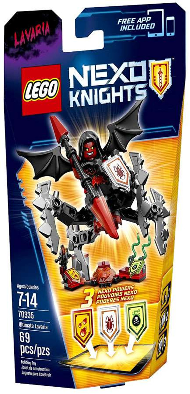 LEGO Nexo Knights ULTIMATE Lavaria Set 70335 - ToyWiz