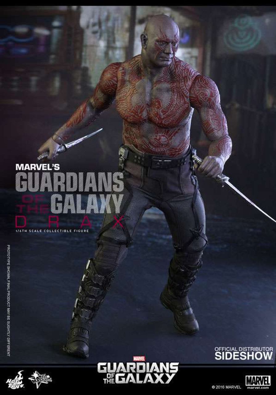 Marvel Guardians of the Galaxy Movie Masterpiece Drax 1/6 Collectible Figure