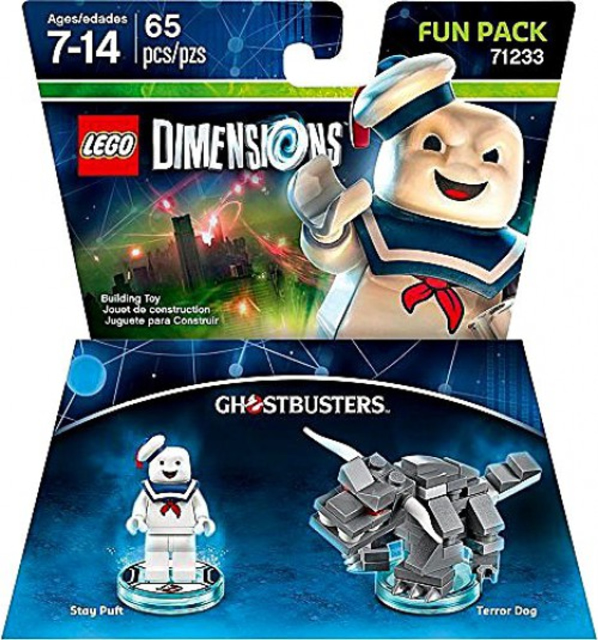 LEGO Dimensions Ghostbusters Stay Puft Terror Dog Fun Pack 71233 ...