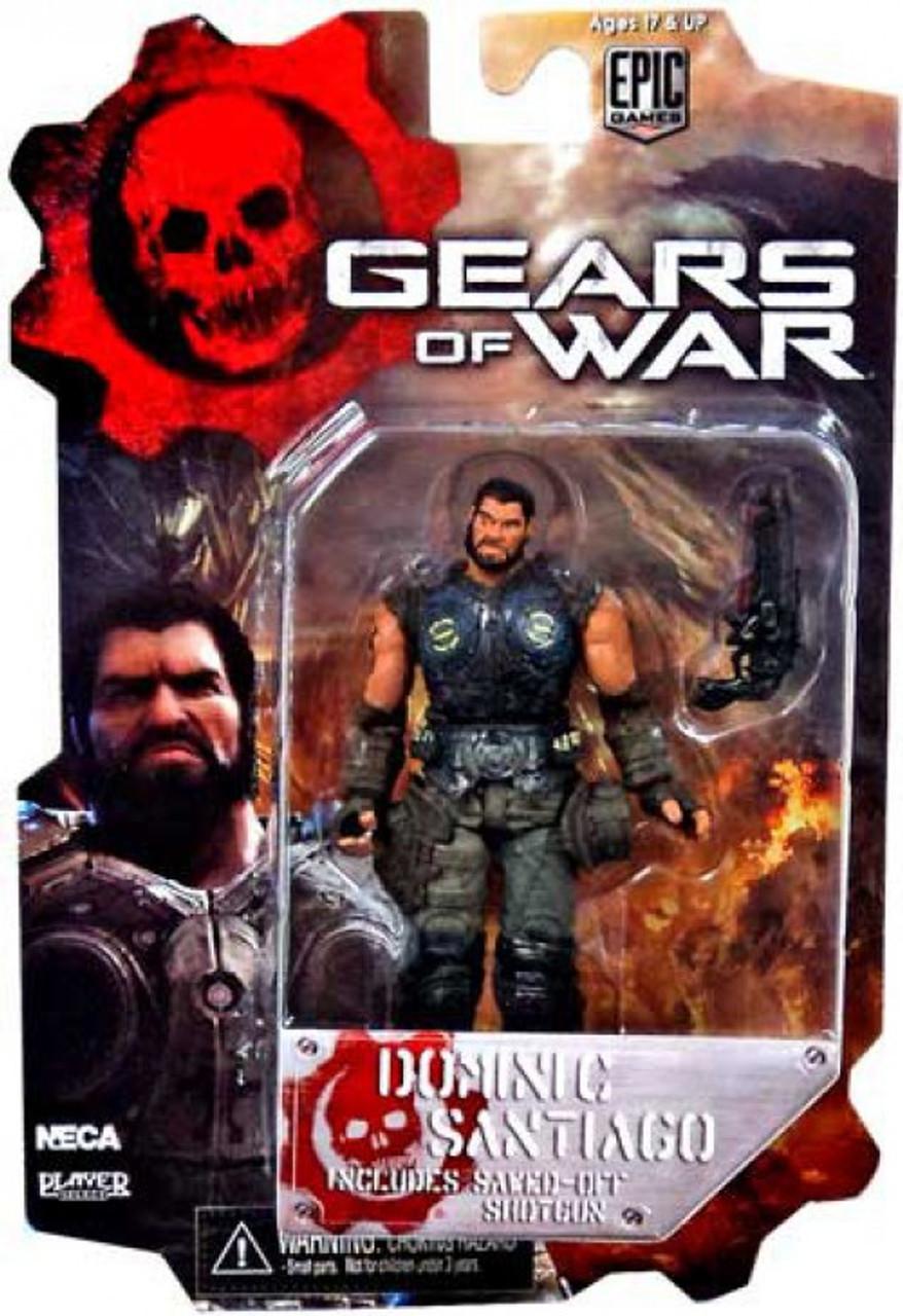 neca gears of war 3 series 2 dominic santiago 3 75 action figure