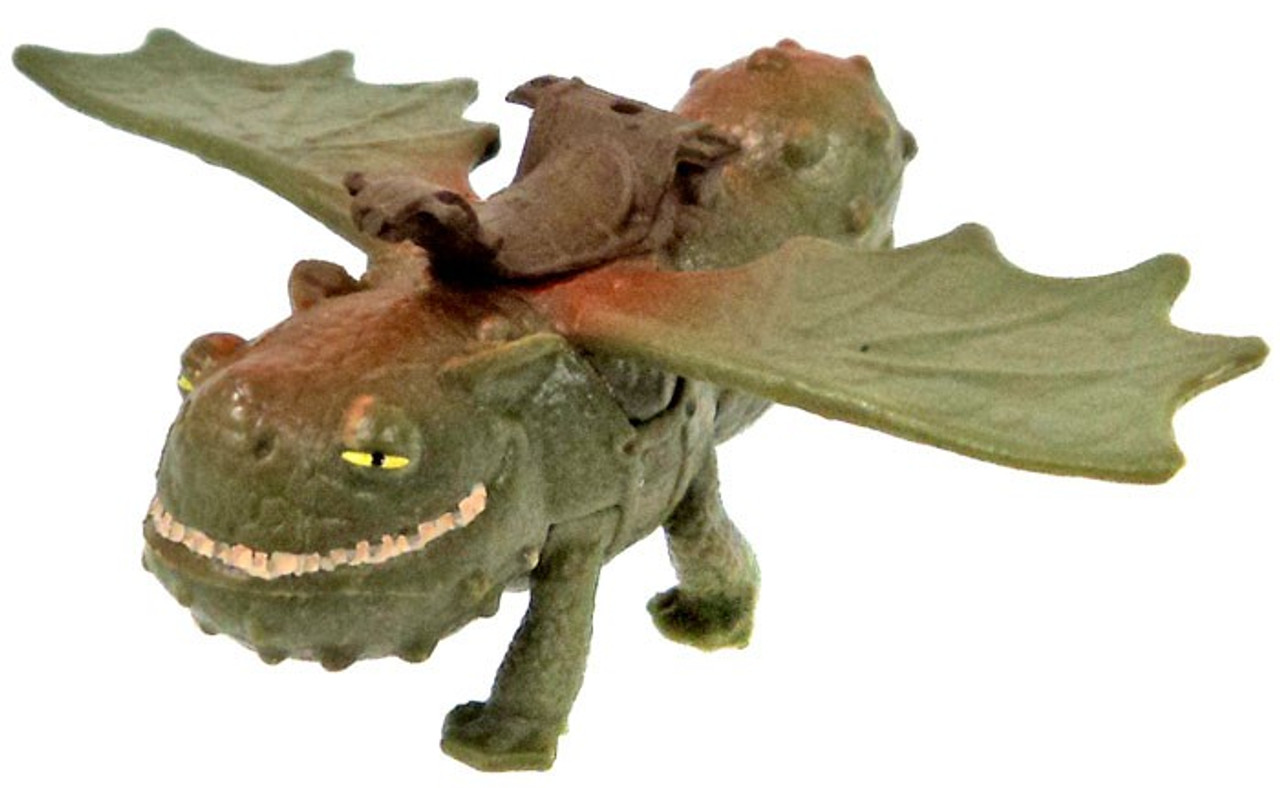 how to train your dragon 2 gronckle 2 pvc figure mouth closed spin