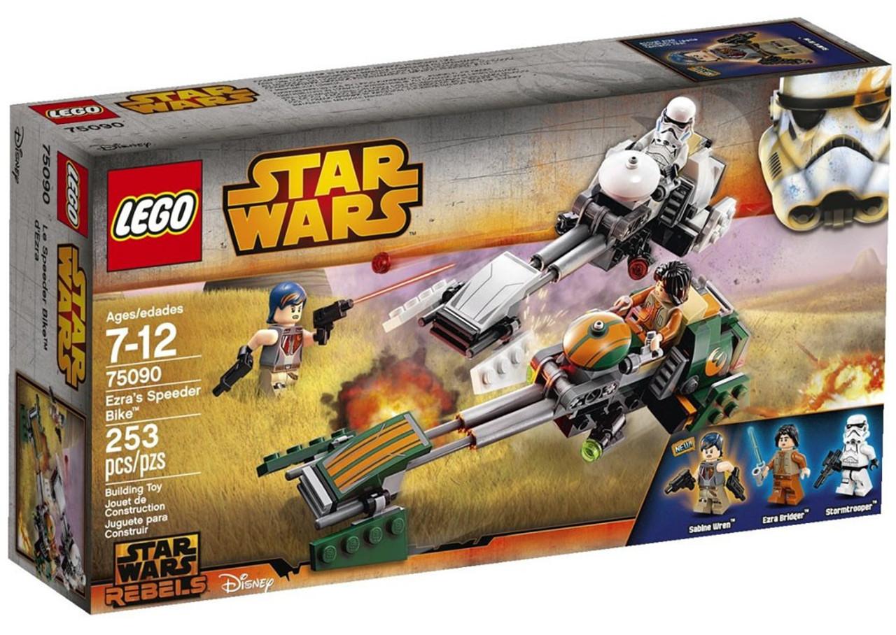 LEGO Star Wars Rebels Ezras Speeder Bike Set 75090 - ToyWiz