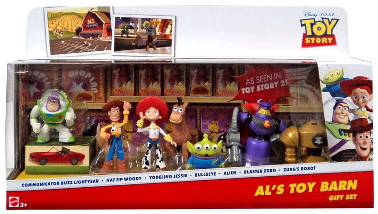 Toy Story Action Figures Set : Toy story th anniversary als toy barn gift set mini figure
