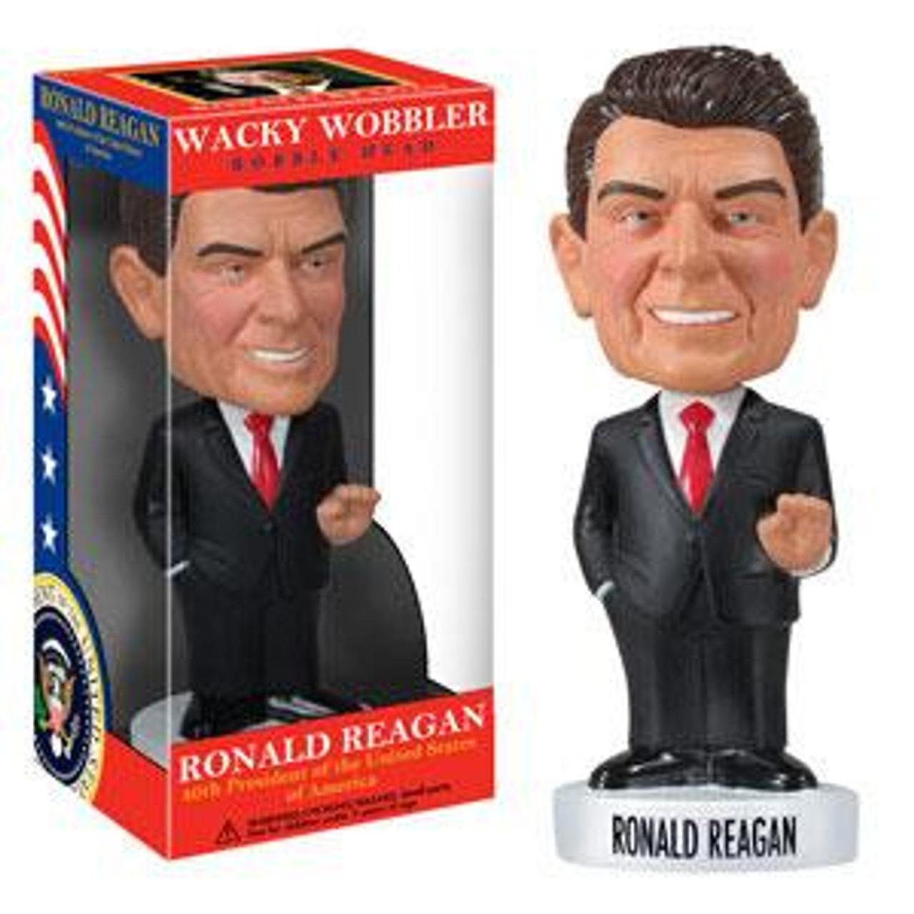 Funko Wacky Wobbler President Ronald Reagan Bobble Head
