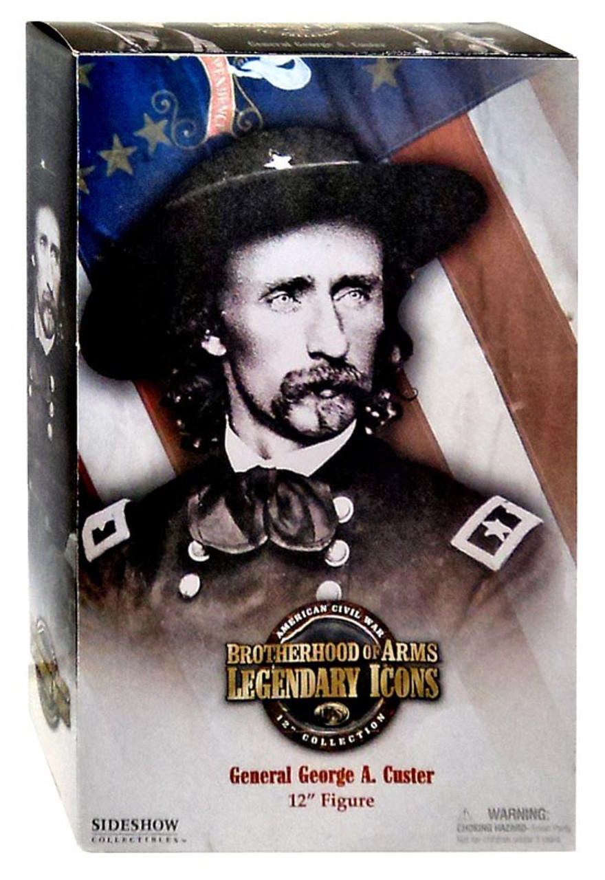 Brotherhood of Arms Legendary Icons American Civil War General George A. Custer 12 Inch Action Figure
