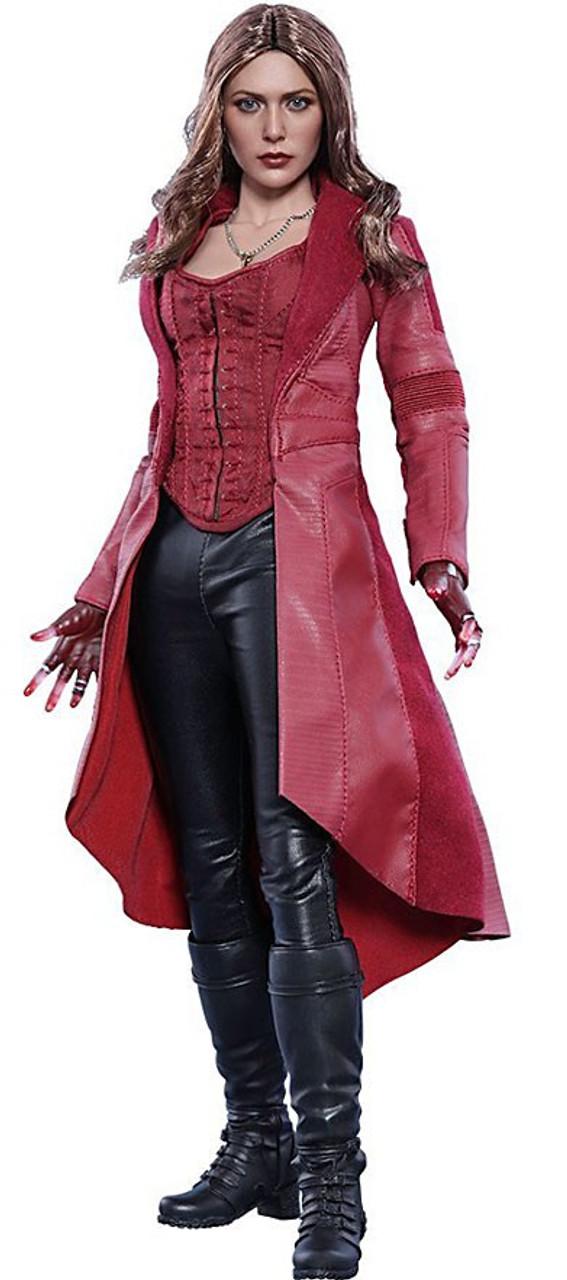 Marvel Civil War Movie Masterpiece Scarlet Witch 1/6 Collectible Figure [Civil War]