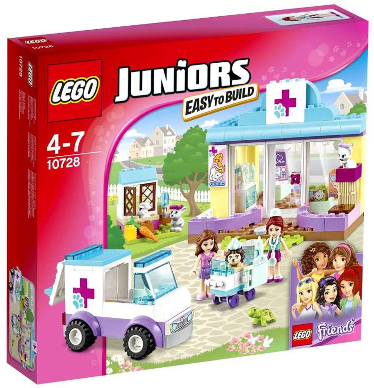 Lego Juniors Friends Mias Vet Clinic Set 10728 Toywiz