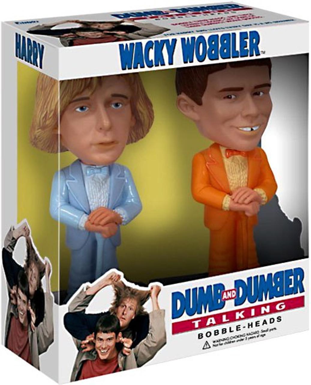 Funko Dumb and Dumber Wacky Wobbler Talking Harry & Lloyd Bobble Head 2-Pack