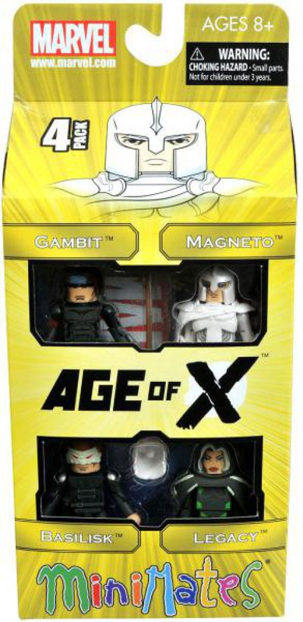 Marvel Minimates Exclusives Age of X Exclusive Minifigure 4-Pack