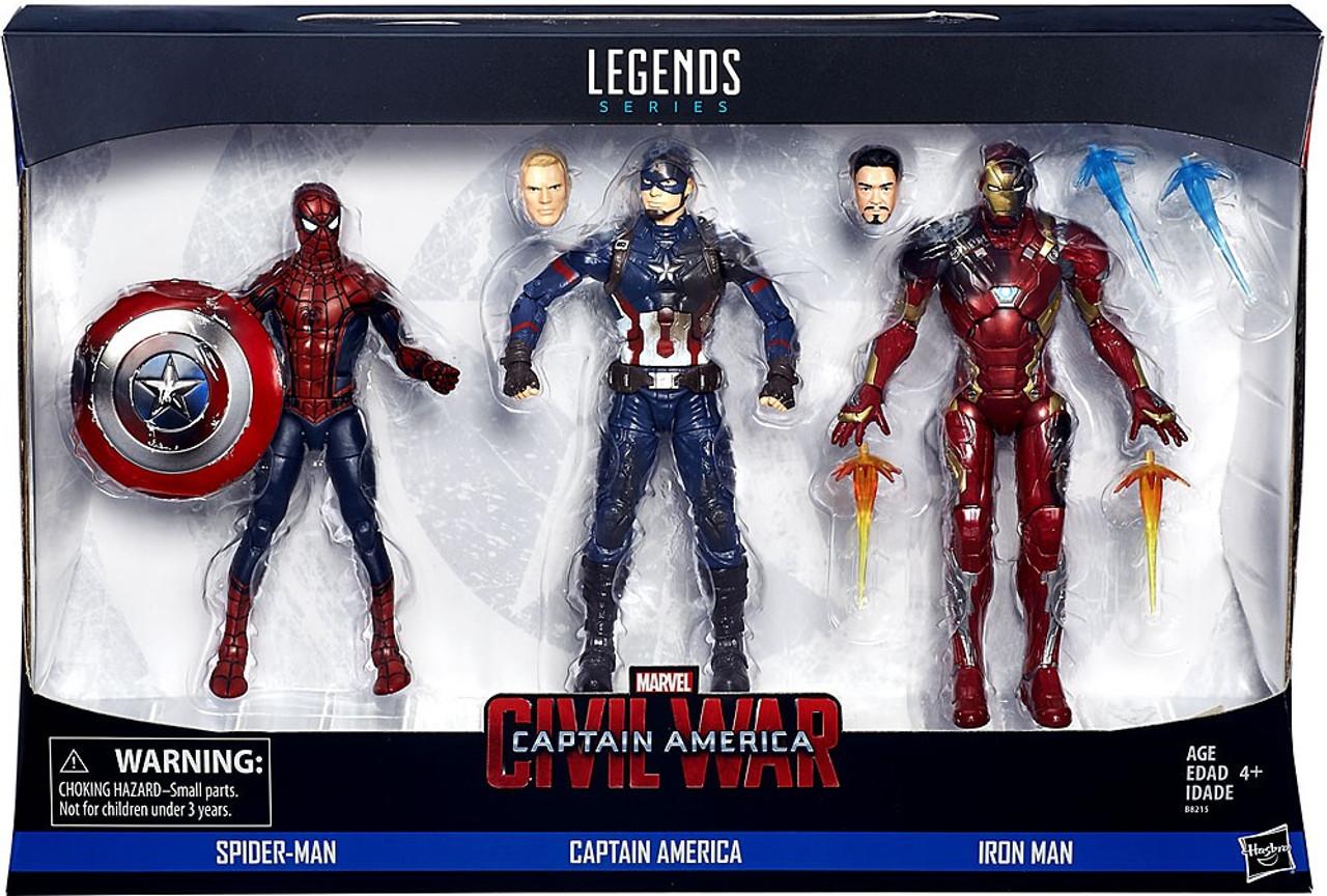 Marvel Captain America Civil War Marvel Legends Spider Man