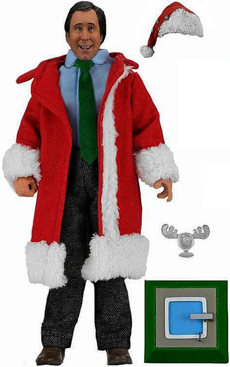 neca national lampoons christmas vacation santa clark griswold retro action figure - Clark Griswold Christmas Vacation
