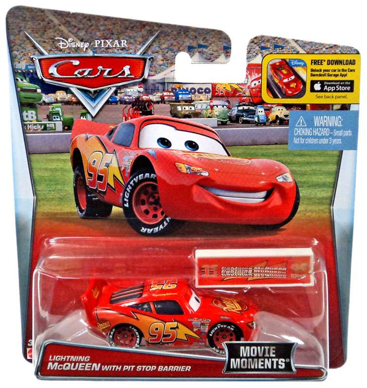 Cars The Movie: Disney Pixar Cars Movie Moments Lightning McQueen 155