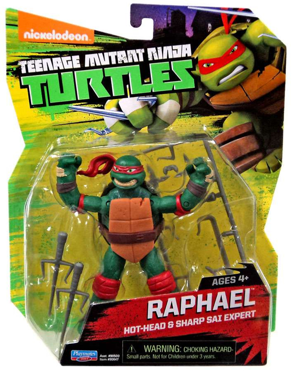 Where Can I Find Ninja Turtle Toys : Teenage mutant ninja turtles nickelodeon raphael action