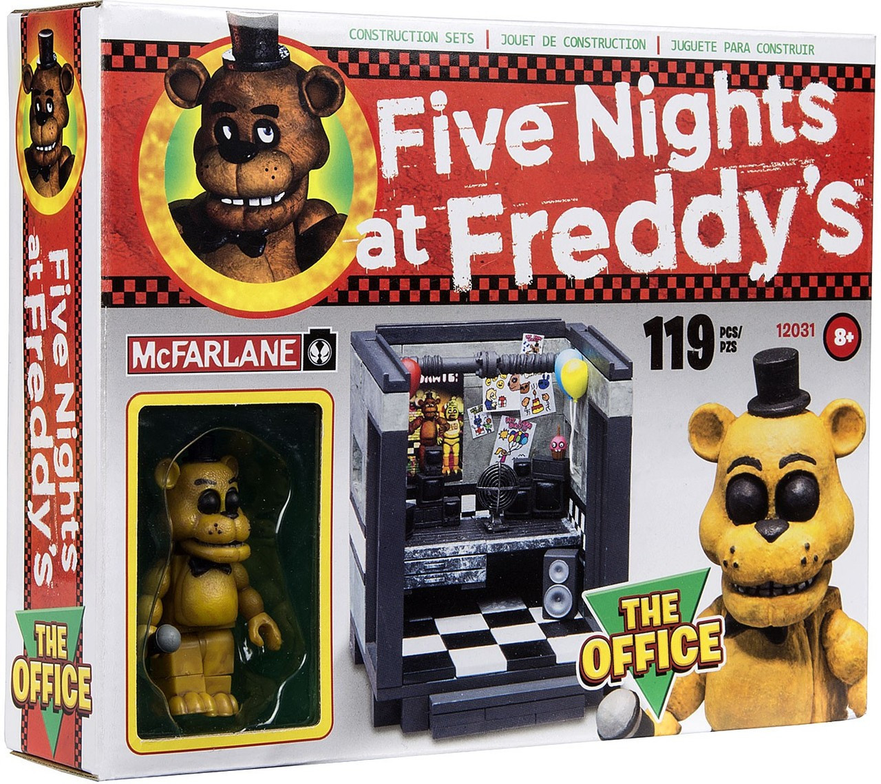 Mcfarlane Toys Five Nights At Freddy S The Bed Construction Set