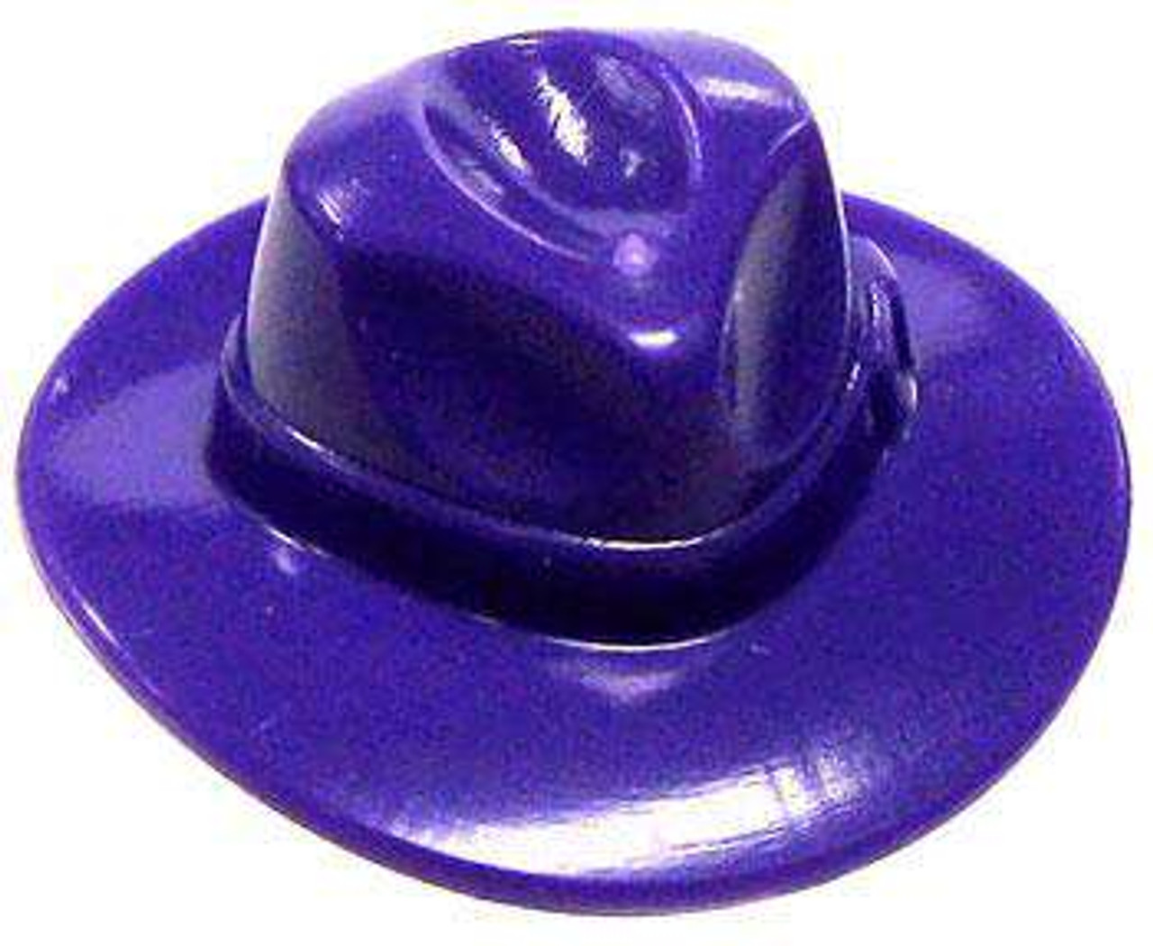 LEGO Minifigure Parts Purple Fedora Hat Minifigure Accessory [Loose]