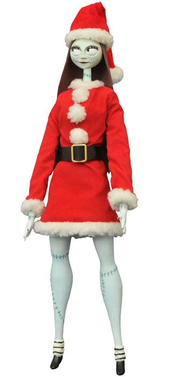 nightmare before christmas santa sally 14 inch coffin doll unlimited edition - Nightmare Before Christmas Sally Doll
