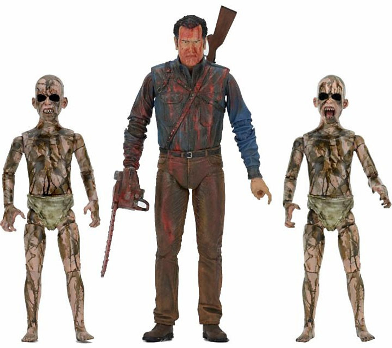 NECA Ash Vs Evil Dead Series 1 Bloody Ash Vs Demon Spawn
