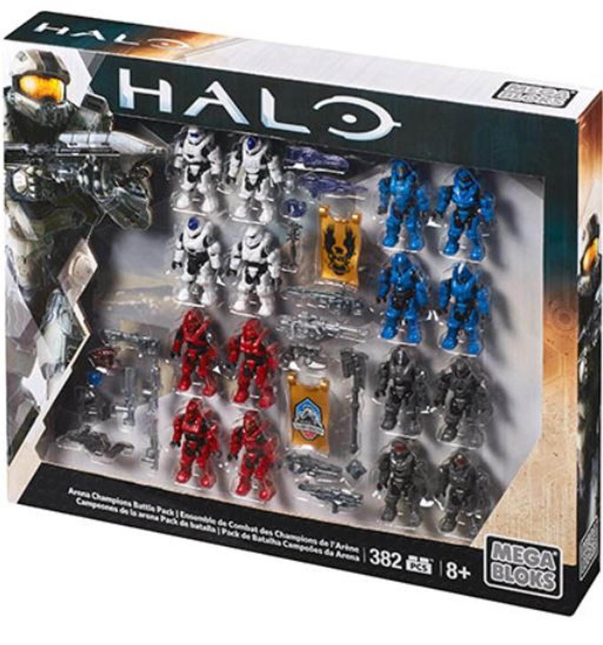 Mega Bloks Halo Arena Champions Battle Pack Exclusive Set