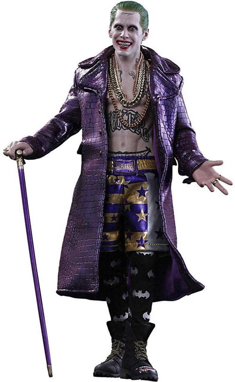 DC Suicide Squad Movie Masterpiece The Joker 1/6 Collectible Figure [Purple Coat Version]