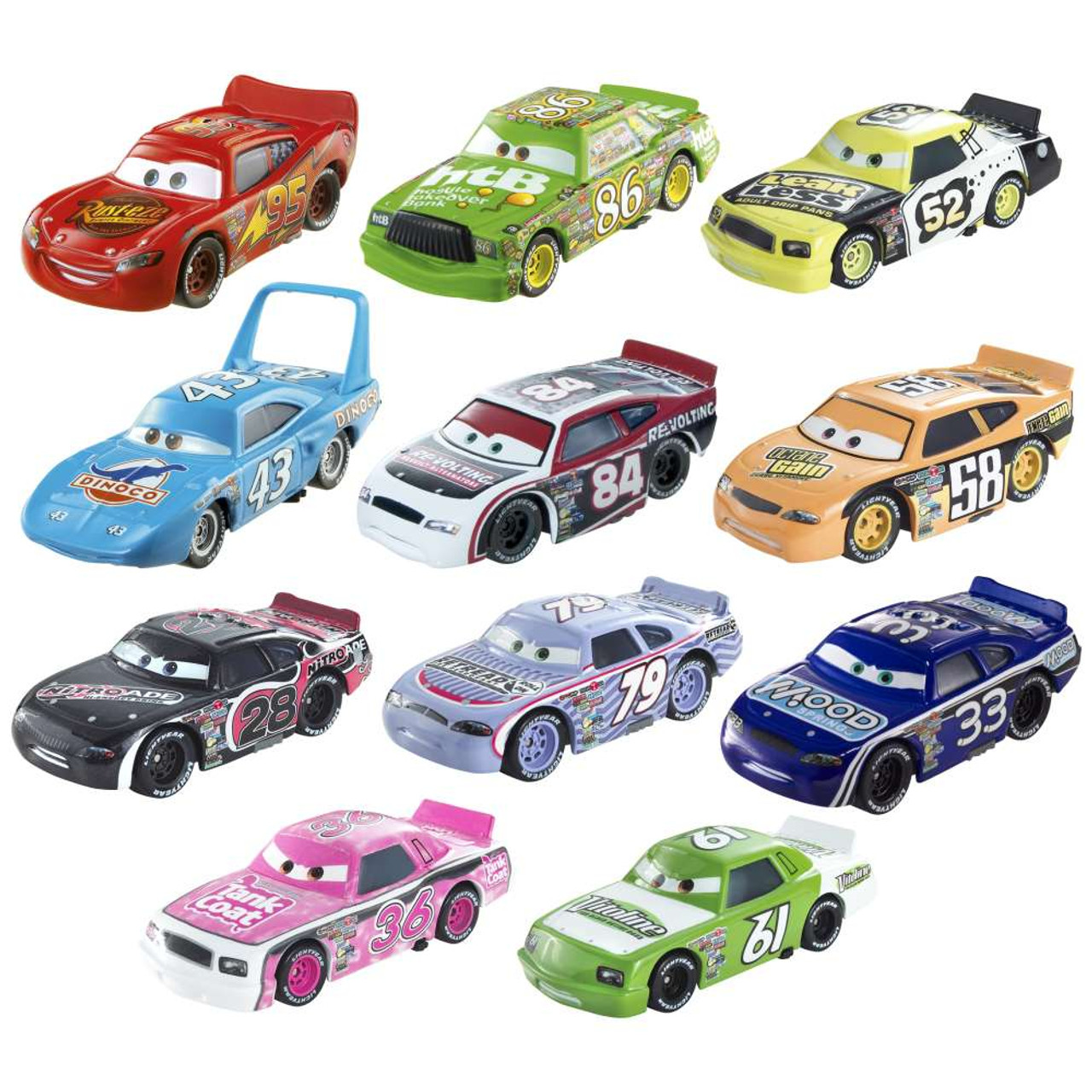 Disney Cars Piston Cup Collector Pack 155 Diecast Car 11