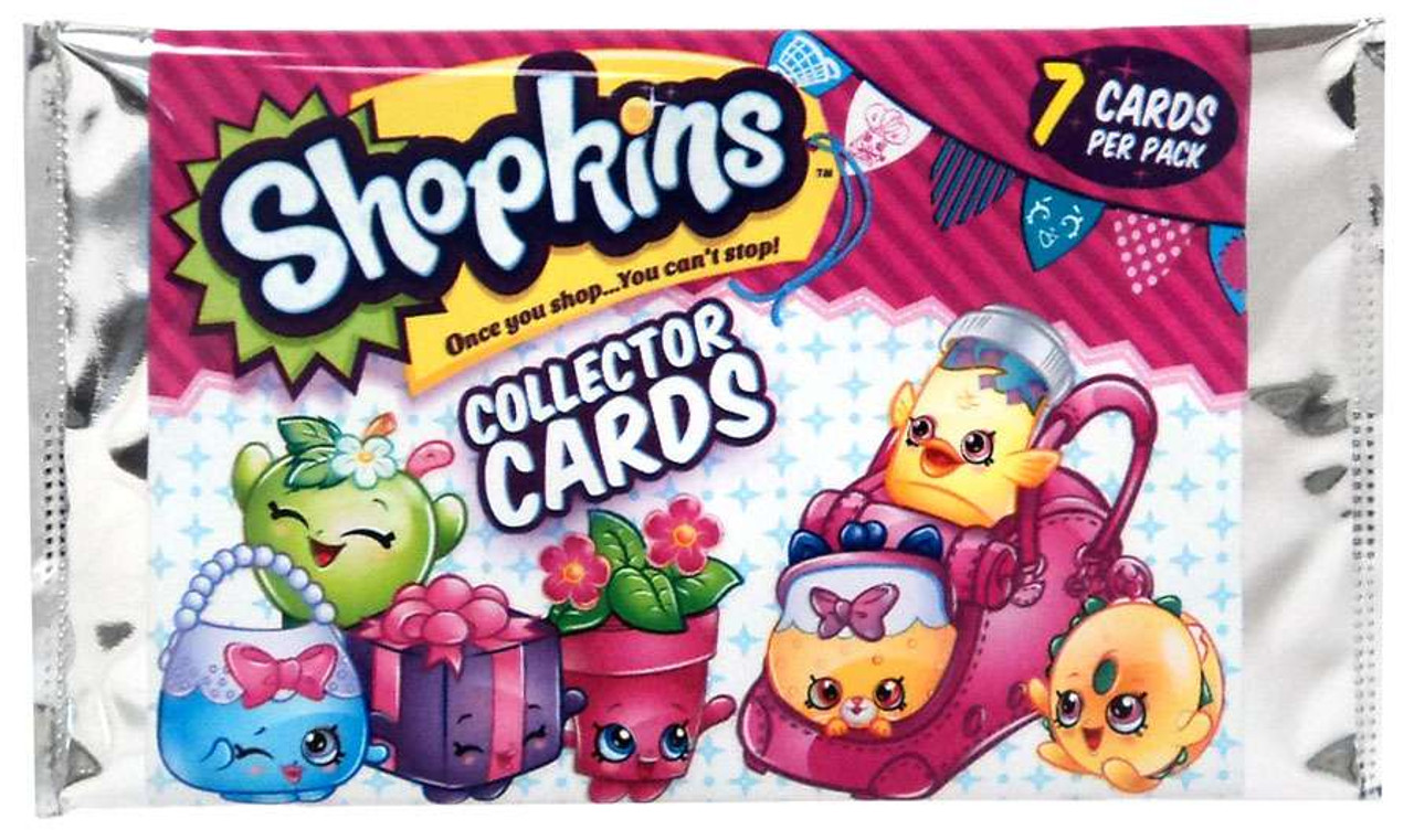Season 4 Shopkins Collector Trading Cards Pack