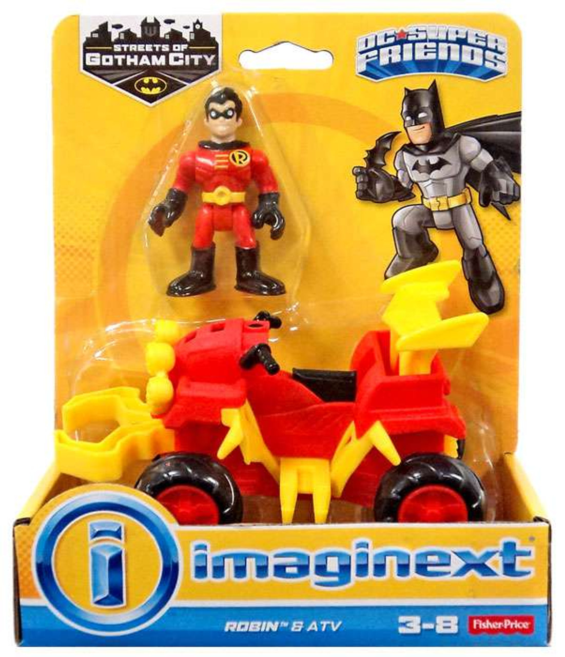 Fisher Price Dc Super Friends Streets Of Gotham City