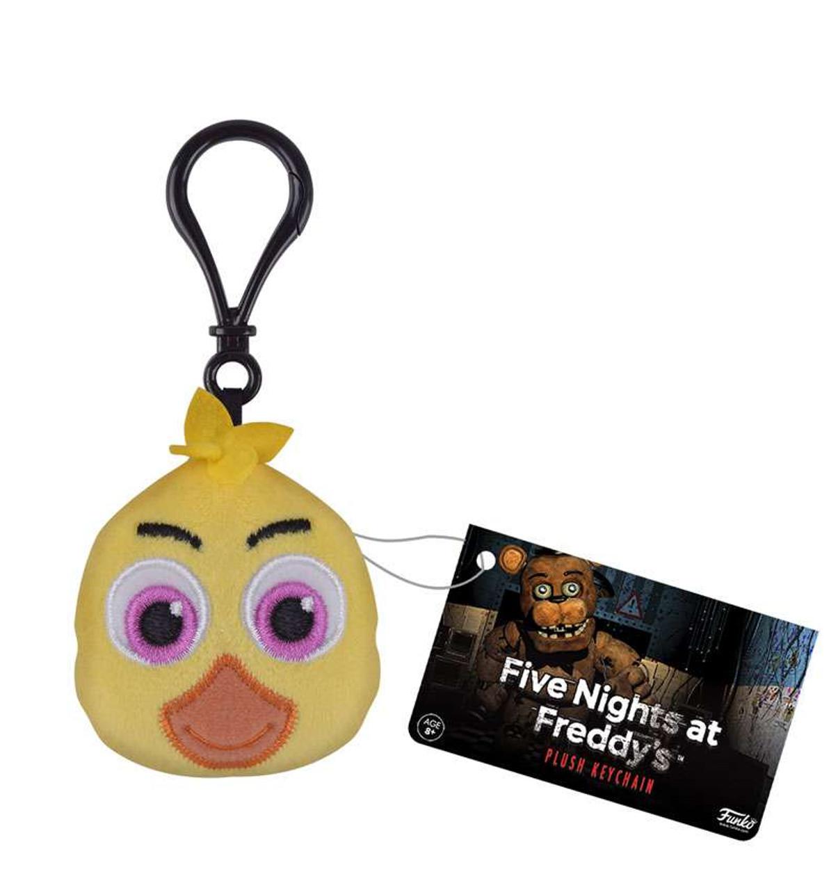 funko five nights at freddys chica plush keychain toywiz