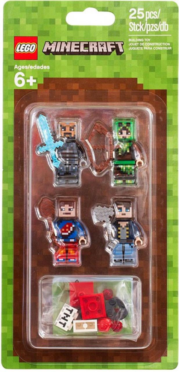 LEGO Minecraft Skin Pack Set ToyWiz - Skin para minecraft de yugioh