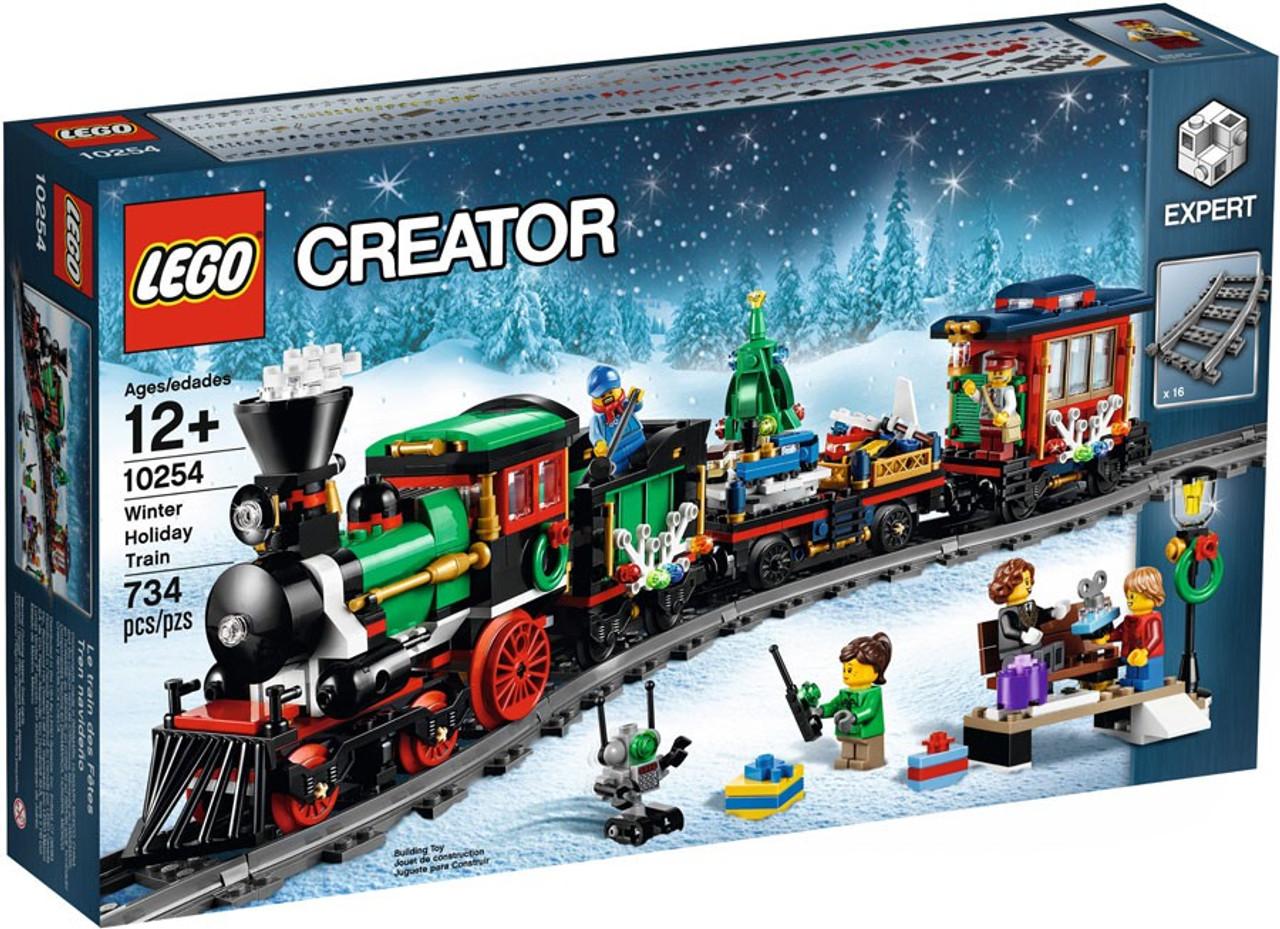 Lego Creator Winter Holiday Train Set 10254 Toywiz