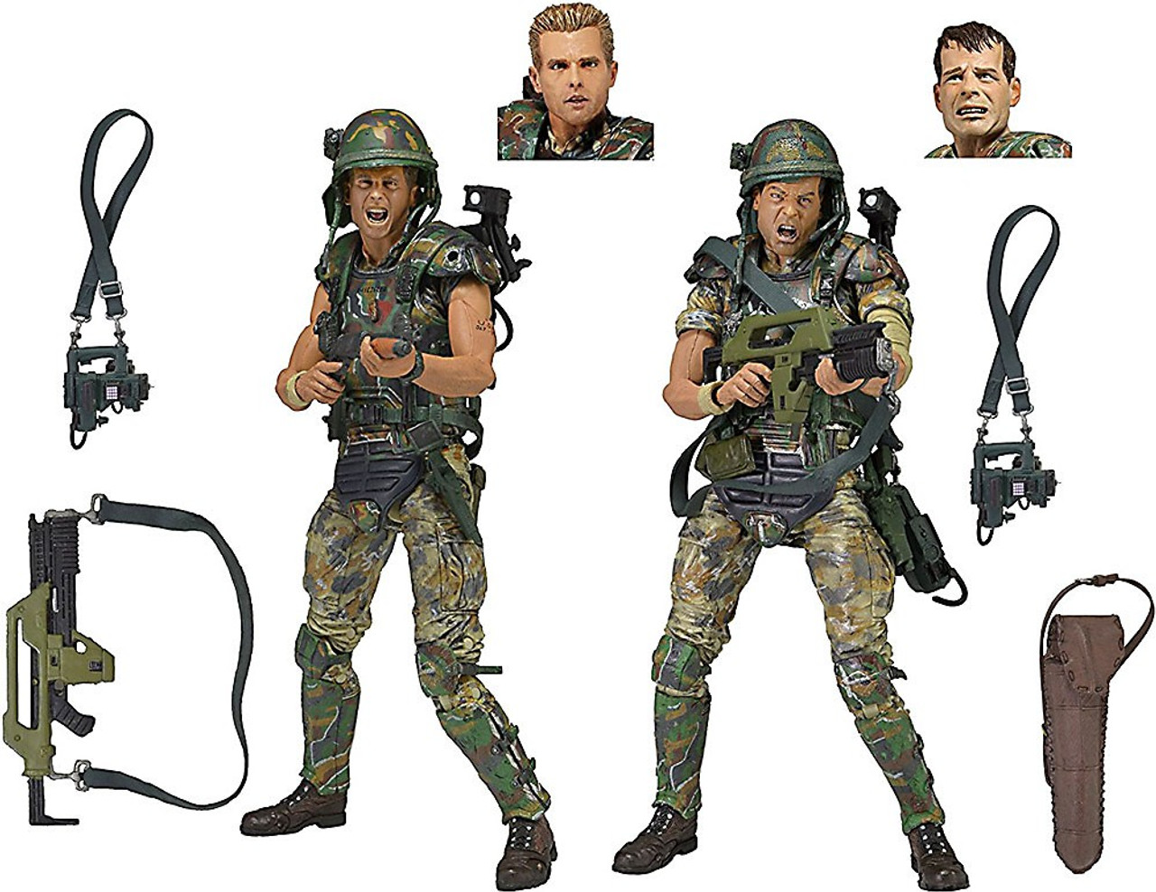 NECA Aliens Colonial Marines Deluxe Action Figure 2-Pack [Hicks & Hudson]