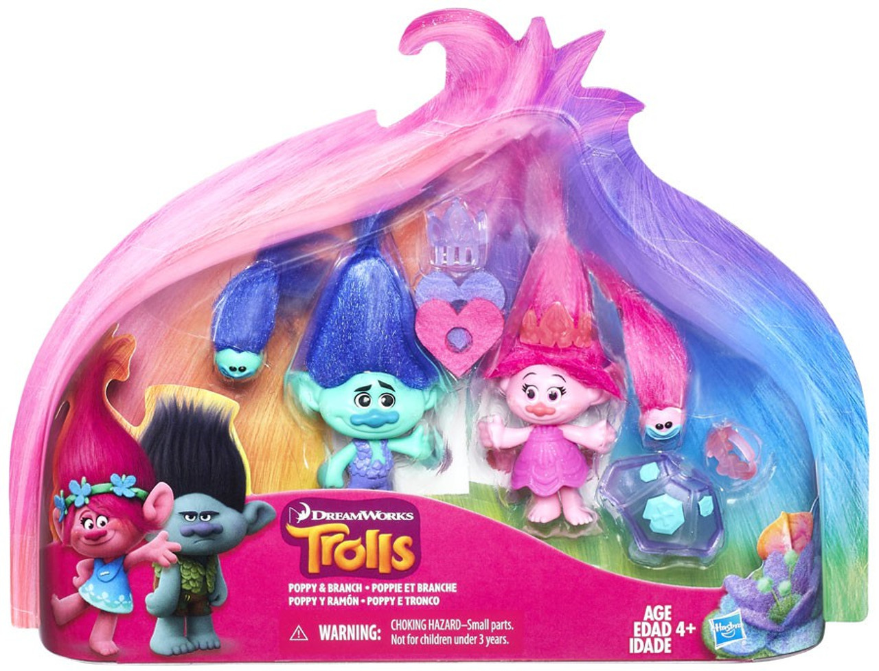 trolls poppy branch exclusive action figure hasbro toys toywiz