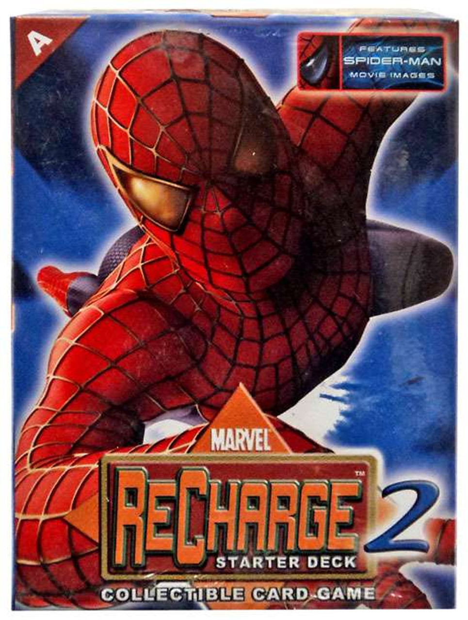 Marvel Collectible Card Game Recharge 2 Spider Man Starter Deck