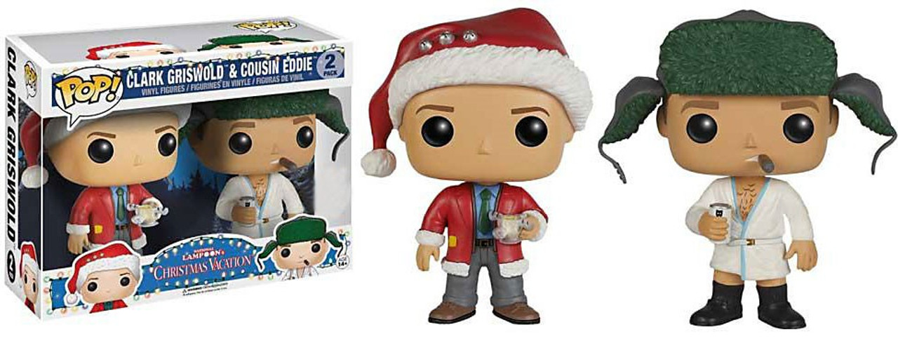 national lampoons christmas vacation funko pop movies clark griswold cousin eddie exclusive vinyl figure - National Lampoons Christmas Vacation 2