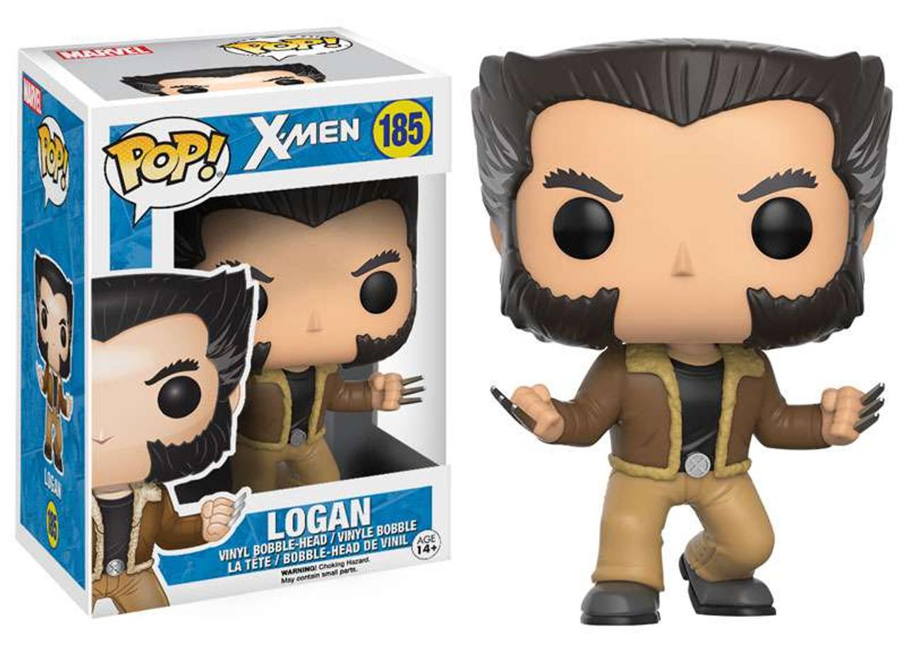 Marvel X-Men Funko POP! Marvel Logan Vinyl Bobble Head #185