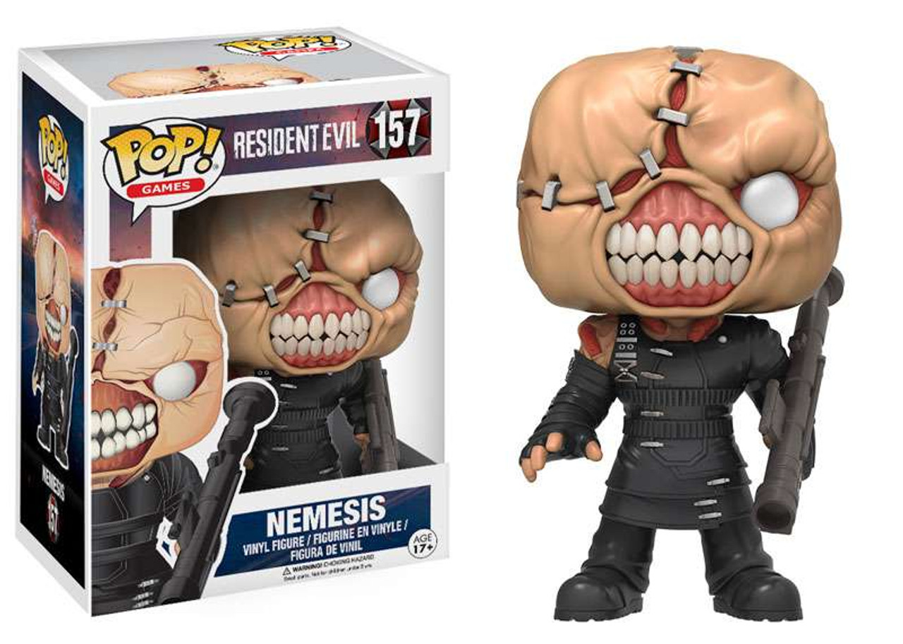 Resident Evil Funko POP! Games Nemesis Vinyl Figure #157