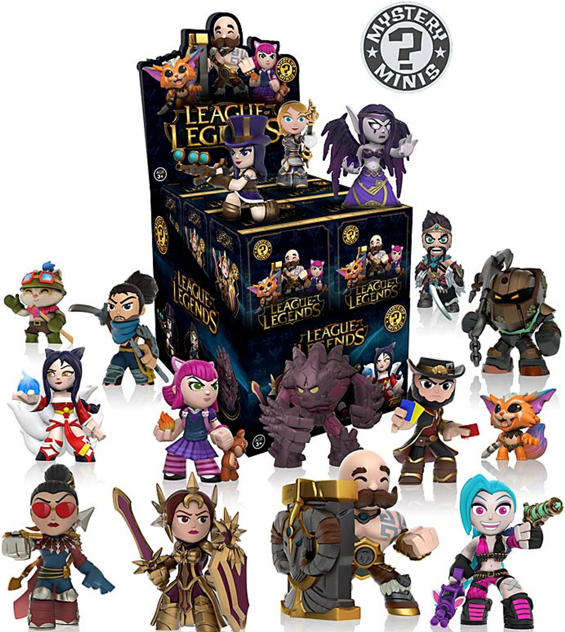 Funko League of Legends Mystery Minis League of Legends Mystery Box ...