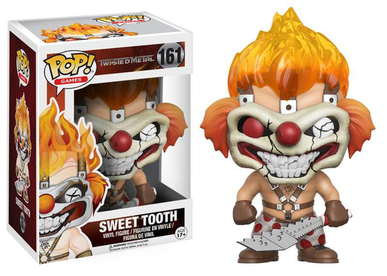 Funko Twisted Metal Funko Pop Games Sweet Tooth Vinyl