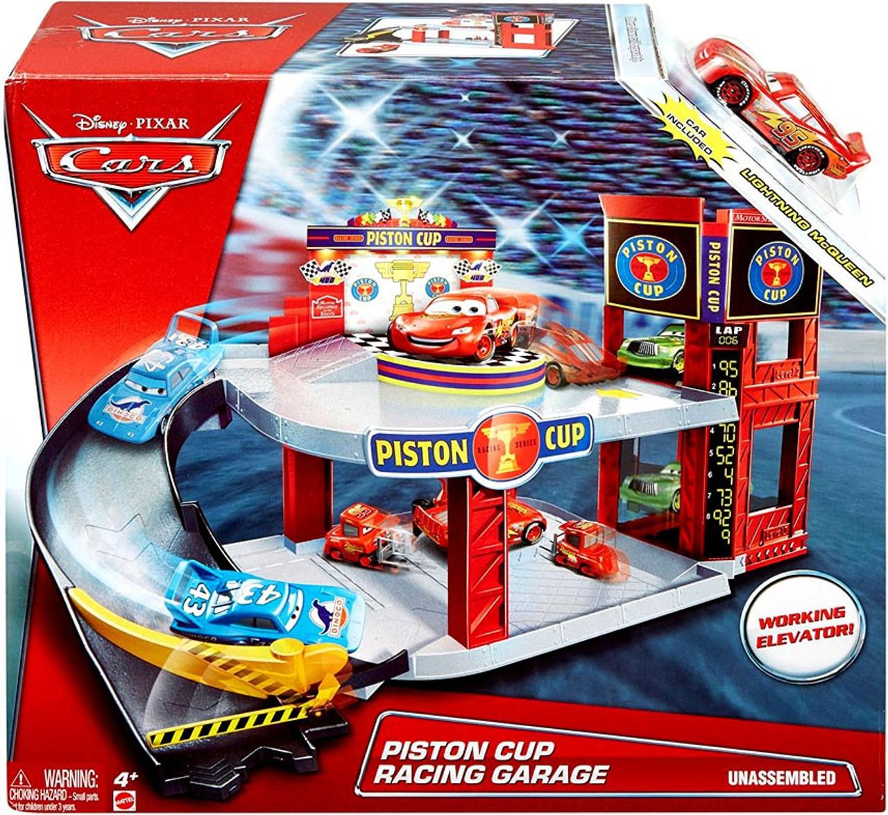 Cars  Pit Crew Garage Playset