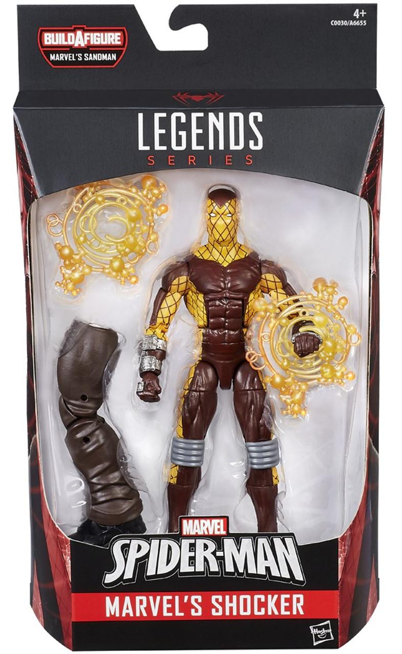 Marvel Legends Sandman Series Shocker 6 Action Figure ...