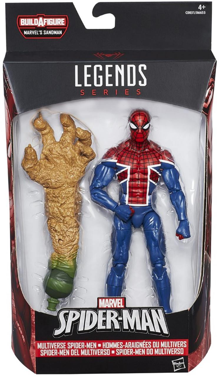 Marvel Legends Sandman Series Spider UK 6 Action Figure ...