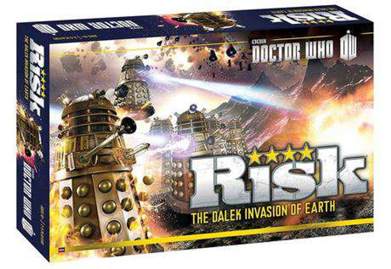 Doctor Who Risk Board Game [The Dalek Invasion of Earth, Damaged Package]
