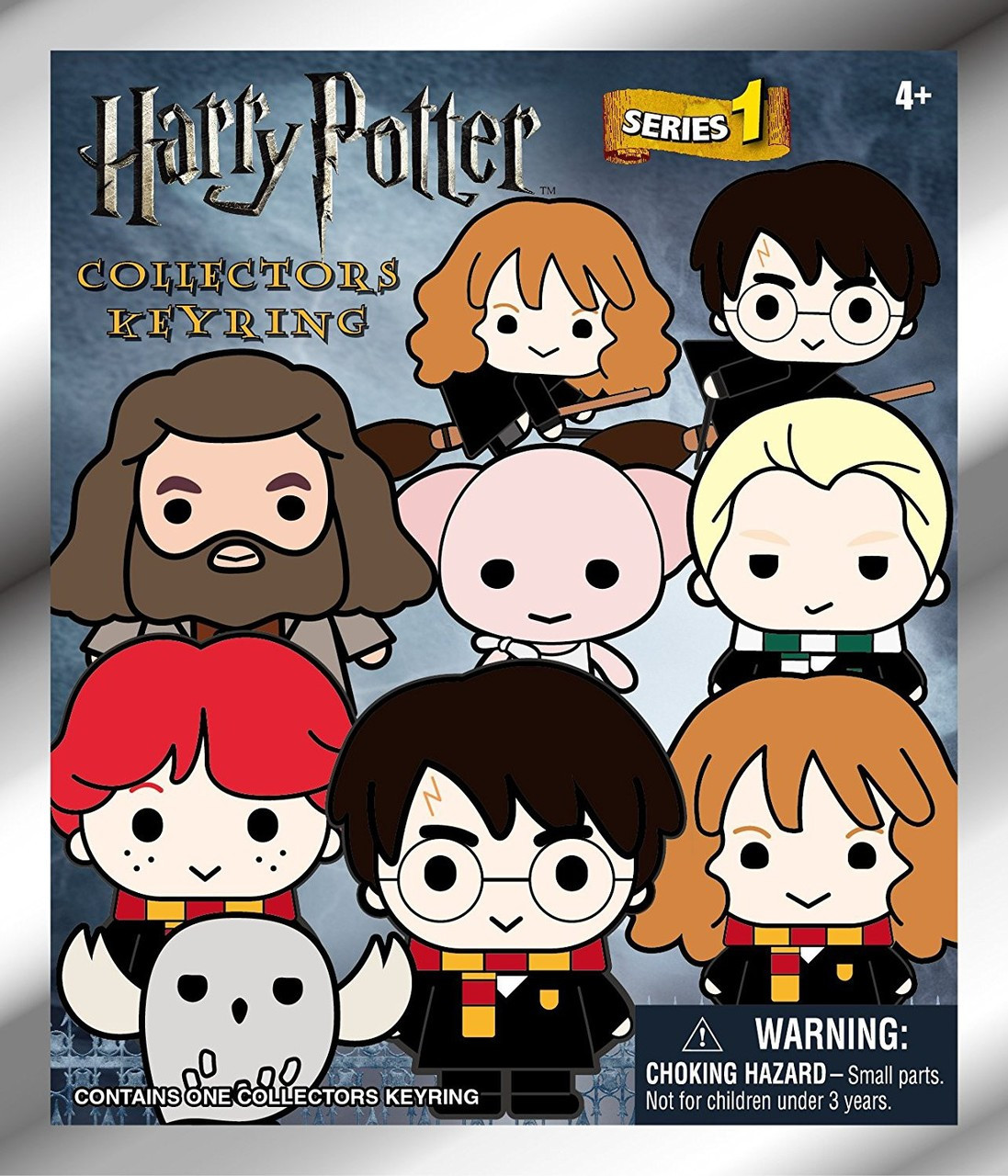 3D Figural Keyring Harry Potter Series 2 Mystery Pack