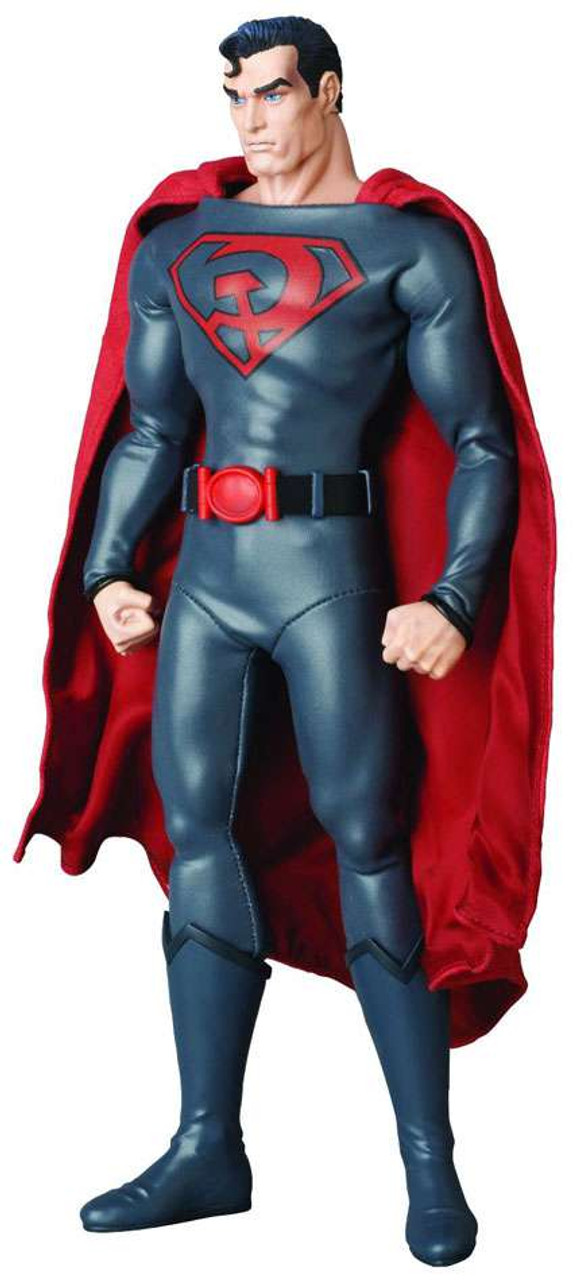 DC Real Action Hero RAH Red Son Superman 1/6 Collectible Figure