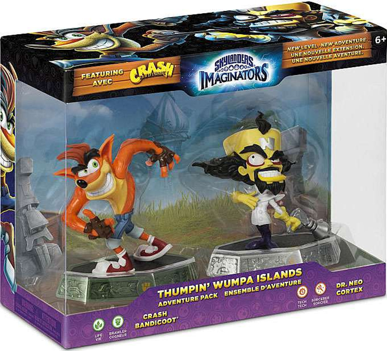 Skylanders Imaginators Thumpin Wumpa Islands Adventure ...