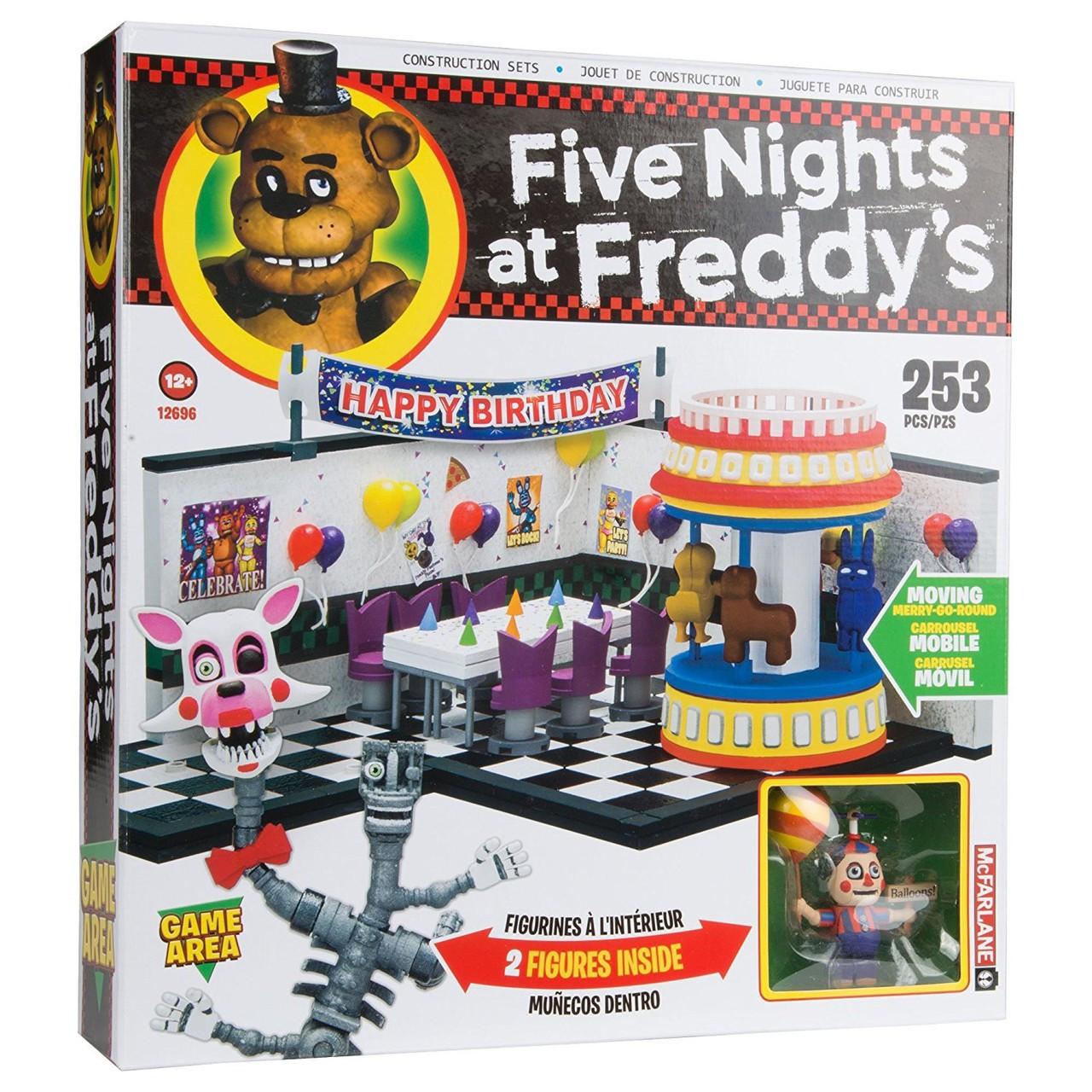 Big Boy Toys Games : Mcfarlane toys five nights at freddys game area