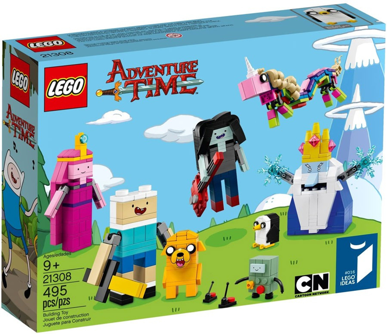 LEGO Ideas Adventure Time Set #21308