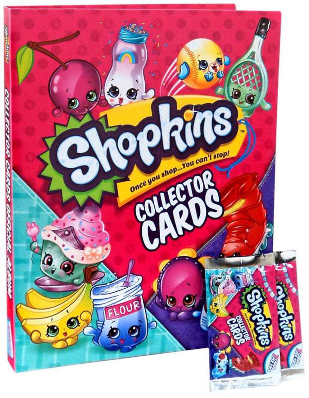 Shopkins Season 5 6 Trading Cards Collector Album Bulls I Toy