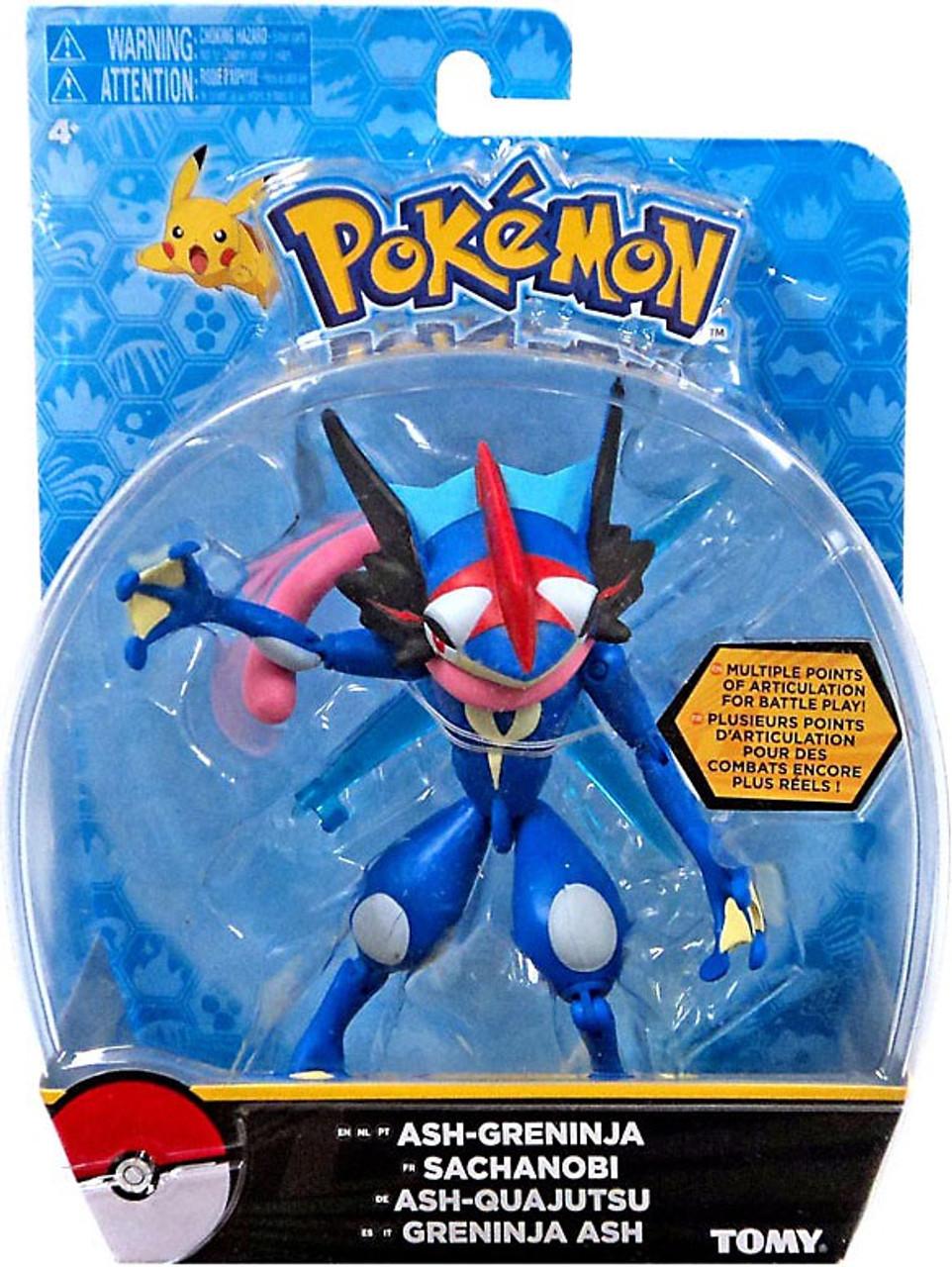 Pokemon Ash Greninja 5 Action Figure TOMY